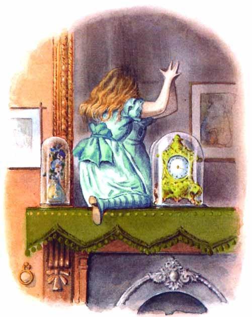 Alice achter de spiegel Rapunzel